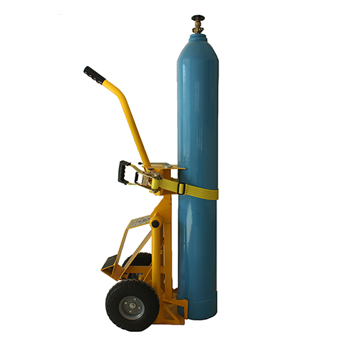 gas cylinder lifter device